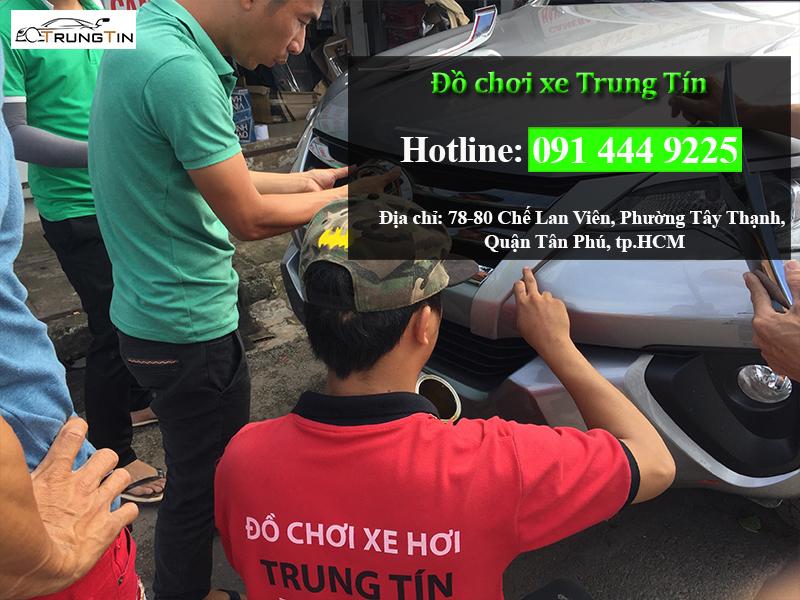 Dán Phim Cách Nhiệt Llumar Cho Xe Hơi Tại Huyện Hóc Môn