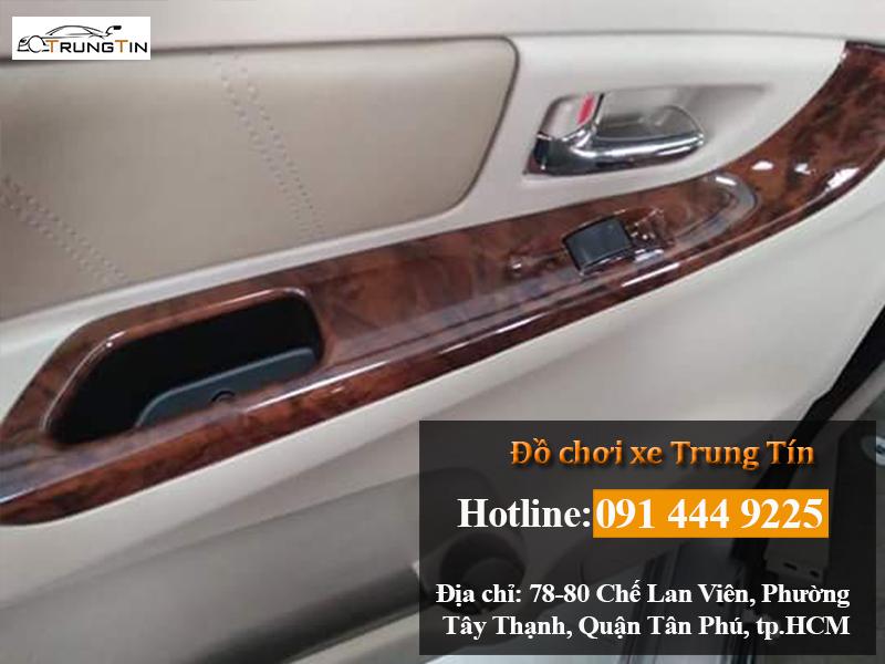 Ốp gỗ nội thất ô tô chất lượng tại TP.HCM