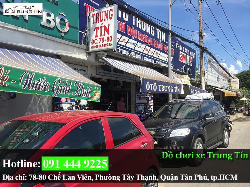 Dán Phim Cách Nhiệt Llumar Cho Xe Hơi Tại Quận Tân Bình