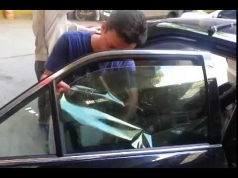 Dán phim cách nhiệt chống nóng cho ô tô tại quận Tân Phú