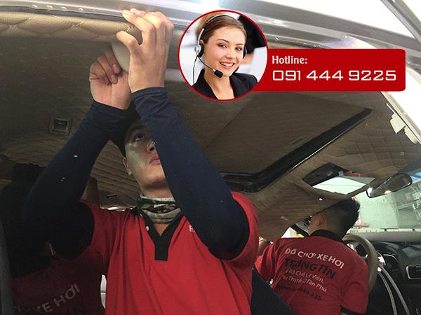 Bọc trần 5D Cho Dòng Xe  Toyota